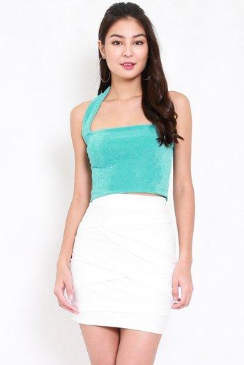 Adrianna Halter Top V2 (Turquoise)