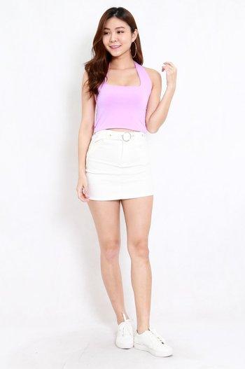 Adrianna Halter Top (Lilac)