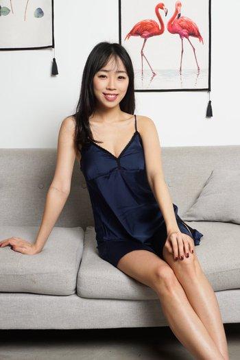 Rosella Lace Sleep Dress Set (Navy)