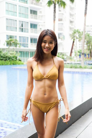 Triangle Bikini (Gold)