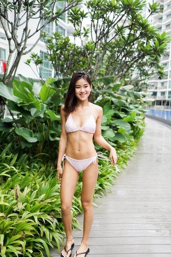 Triangle Bikini (Pink)