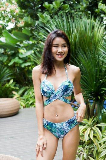 Cross Wrap Bikini (Tropical)