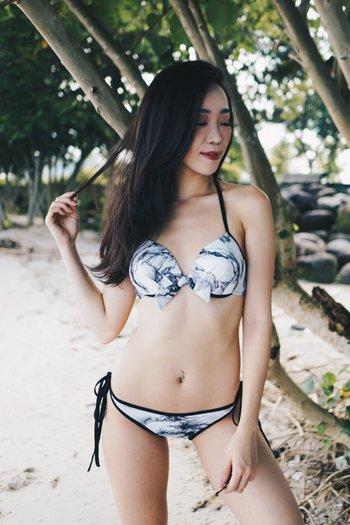 Via Bikini (White Marble)