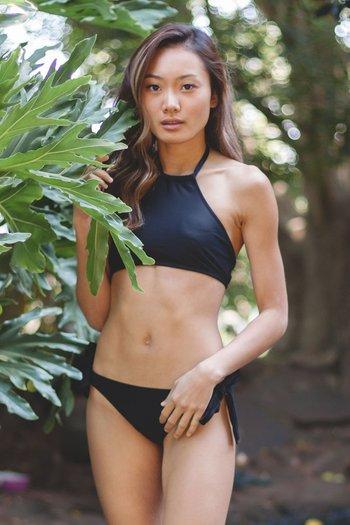 Halter Bikini (Black)