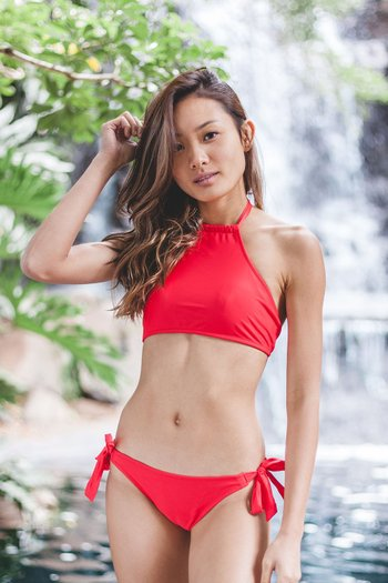 Halter Bikini (Red)