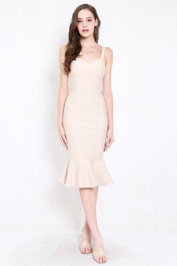 *Premium* Sweetheart Mermaid Dress (Ivory)