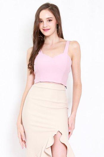 *Premium* Classic Sweetheart Top (Light Pink)
