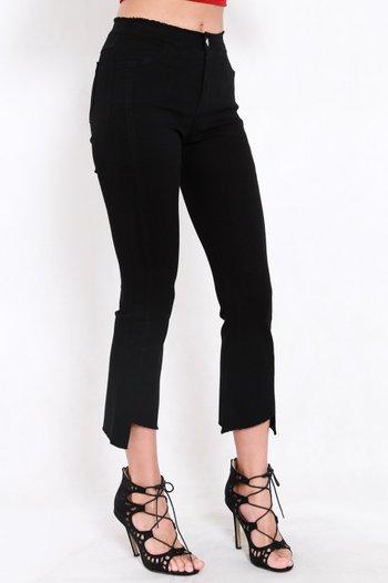 Cutting Edge Denim Jeans (Black)