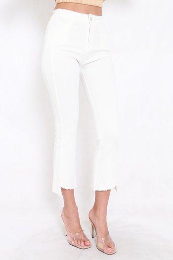Cutting Edge Denim Jeans (White)