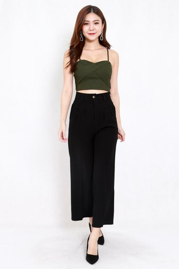 Crossover Top (Olive)