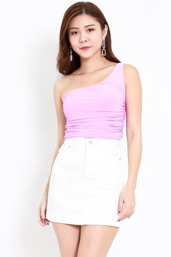 Toga Ruched Top (Lilac)