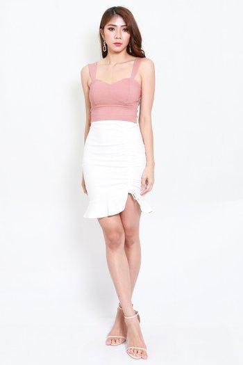 Miranda Sweetheart Top (Tan-Nude)
