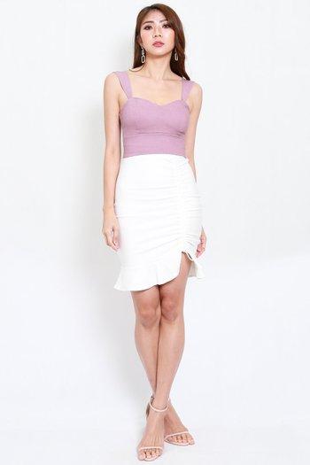 Miranda Sweetheart Top (Lavender)