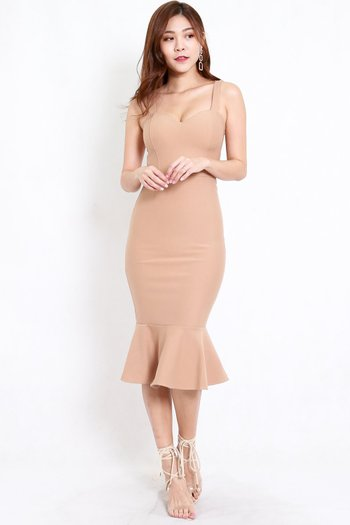 *Premium* Sweetheart Mermaid Dress (Skin-Nude)