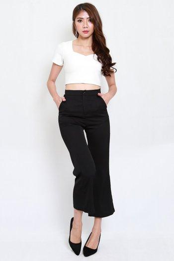 *Premium* Roxy Sleeved Top (White)