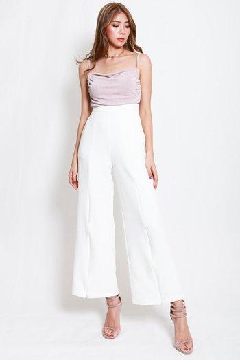2way Slit Pants (White)
