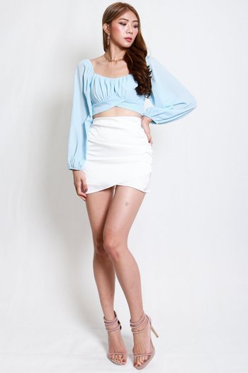 Overlap Ruch Top (Baby Blue)