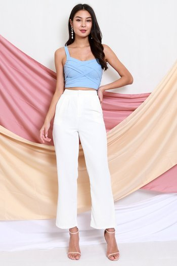 Braided Top (Baby Blue)