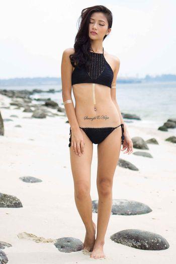 Reila Crochet Top (Black)
