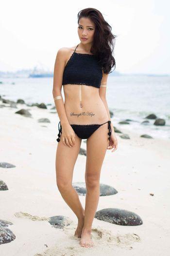 Lexie Crochet Top (Black)