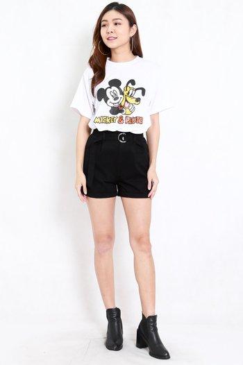 Mickey and Pluto Tee (White)