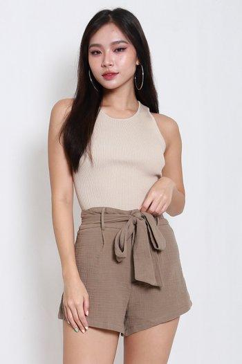 Lolita Soft Cotton Shorts (Olive)